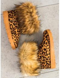 Šilti batai LEOPARD PRINT  - NB302LEO
