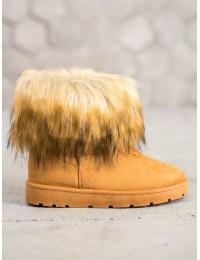 Šilti batai su kailiu nusegamu kailiuku\n - NB302C