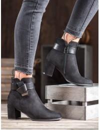 Elegantiški madingi batai papuošti išskirtine juostele - 7-X8182B