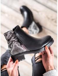 Stilingi batai papuošti gyvatės odos motyvais SNAKE PRINT  - 7-X8222B