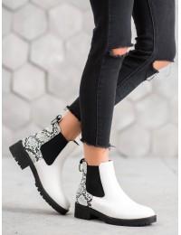 Stilingi batai papuošti gyvatės odos motyvais SNAKE PRINT\n - ZJY-8W