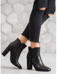 Juodi elegantiški eko odos batai - 1436B