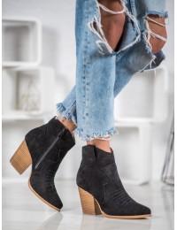 Aukštos kokybės kaubojiško stiliaus batai - A5602B