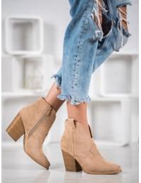 Aukštos kokybės kaubojiško stiliaus batai - A5607KH