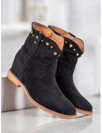 Aukštos kokybės stilingi zomšiniai batai - A3710B
