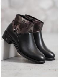 Juodi batai su pašiltinimu VINCEZA  - HX20-16125B