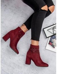 Elegantiški bordo spalvos batai - K1807309BUR