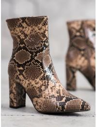 Gyvatės odos rašto aulinukai SNAKE PRINT  - DA29KH/SN