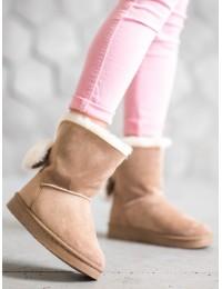 UGG stiliaus patogūs stilingi batai su kailiuku - J60KH