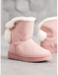 UGG stiliaus patogūs stilingi batai su kailiuku - J60P