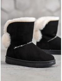 UGG stiliaus patogūs stilingi batai su kailiuku - J60B