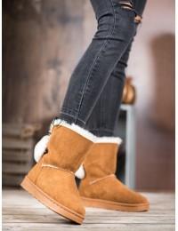 UGG stiliaus patogūs stilingi batai su kailiuku - J60C