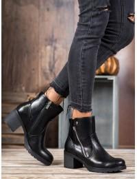 Aukštos kokybės juodi klasikiniai batai - XY20-10486B