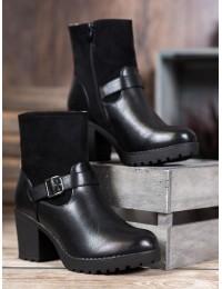 Klasikinio stiliaus batai patogiu kulnu - A8123B