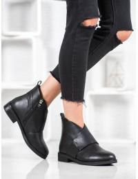 Elegantiški originalūs juodi batai - WT2197-1B