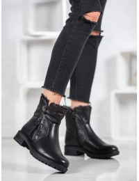 Juodos spalvos juodi batai žiemai - LZ06B