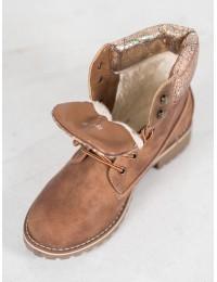 Rudi klasikiniai batai su pašiltinimu - 735-PA-C