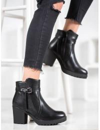 Juodi klasikiniai batai su platforma - A8138/A-B