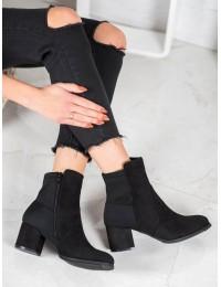 Elegantiški juodos spalvos batai - V19043B