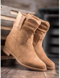 Aukštos kokybės zomšiniai batai - NC952KH