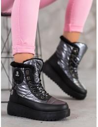 Madingi šilti jaukūs batai su platforma - HY101G