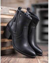 Juodi klasikinio stiliaus batai - A8060B