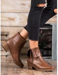 Originalūs rudos spalvos batai - K1936202MA