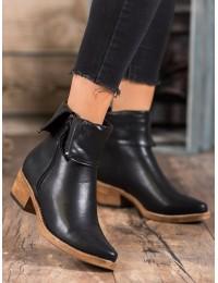 Originalūs juodos spalvos batai - K1936202NE