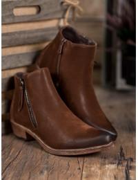 Madingi aukštos kokybės rudi batai - K1936305MA