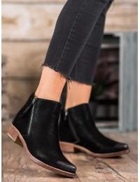 Madingi aukštos kokybės juodi batai - K1936305NE