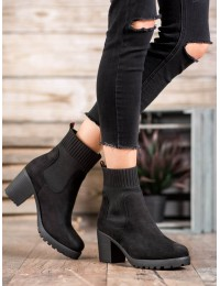 Madingi juodi batai tampriu aulu - M370B