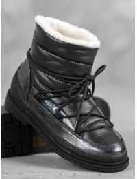 Madingi aukštos kokybės lengvi šilti batai su avikailiu - 9230-1B