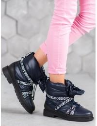 Madingi aukštos kokybės lengvi šilti batai GIRL BOSS  - 9229-13N