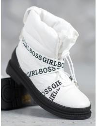Madingi aukštos kokybės lengvi šilti batai GIRL BOSS  - 9229-41W