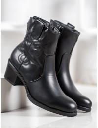 Juodi klasikiniai elegantiški batai - C187B