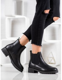 Elegantiški juodos spalvos batai - 119-31B