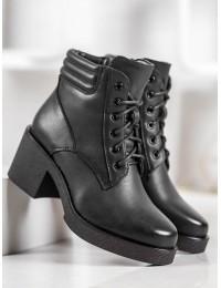 Juodi stilingi prie visko derantys batai - 2097B