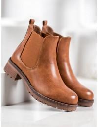 Rudi odiniai klasikinio stiliaus batai - 7985C