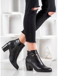 Juodi odiniai elegantiški batai - BM-9088B