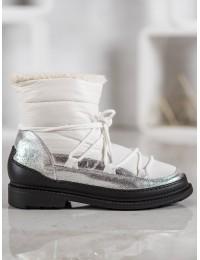 Madingi aukštos kokybės lengvi šilti batai su avikailiu\n - 9230-41W