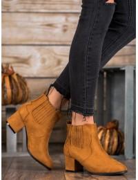 Elegantiški rudi zomšiniai batai - MB188-301C