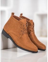 Klasikiniai zomšiniai suvarstomi batai su pašiltinimu - GD-OD-48C