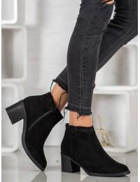 Juodi aukštos kokybės elegantiški batai - K1937904NE