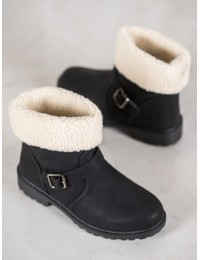 Šilti stilingi patogūs batai su avikailiu - ZY9211B