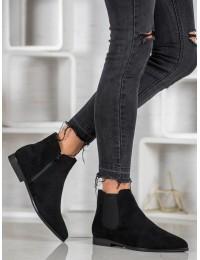 Juodi madingi batai su pašiltinimu - TX-1855B