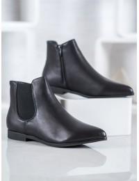 Juodi madingi batai su pašiltinimu - TX-1838B