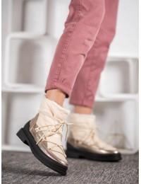 Madingi aukštos kokybės šilti batai su avikailiu\n - 9230-14BE