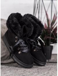 Juodi stilingi patogūs batai - AB-30B