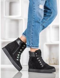 Madingi jaunatviško stiliaus batai su pašiltinimu - RQ216SE