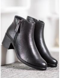 Juodi klasikiniai odiniai batai - A8012/A-B